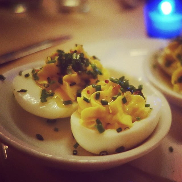 The Spotted Pig – Deviled Eggs