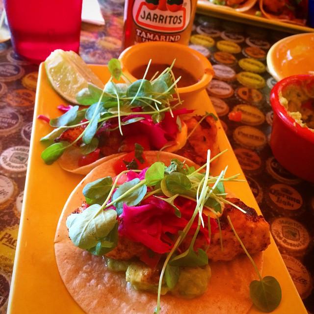 El Centro - Grilled Mahi Mahi tacos