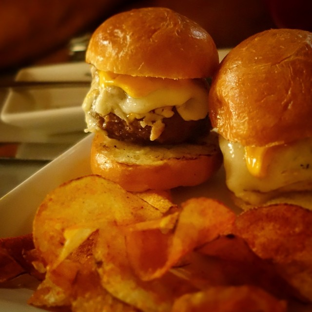 Buceo 95 - Upper West Side - NYC – Boacadillo de Cordero – lamb burger sliders, manchego cheese, roasted red pepper and aioli