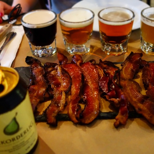 Bar Bacon - Midtown - Bacon and Beer Flight