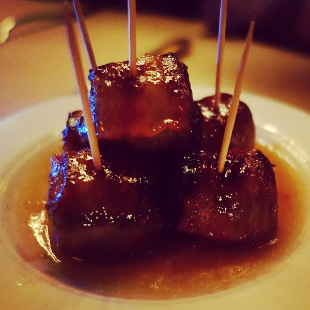 The Spotted Pig – Devils on Horseback, aka bacon wrapped dates