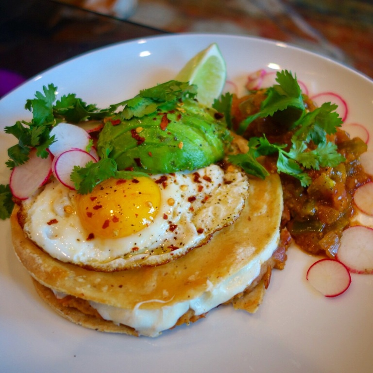 Blue Apron - Huevos Rancheros with Salsa Verde, Radishes & Avocado