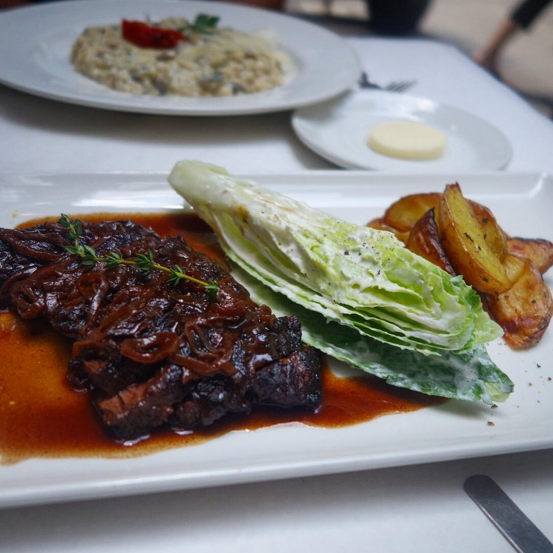 Brassiere Cognac – Midtown – NYC – Restaurant week – Hangar Steak