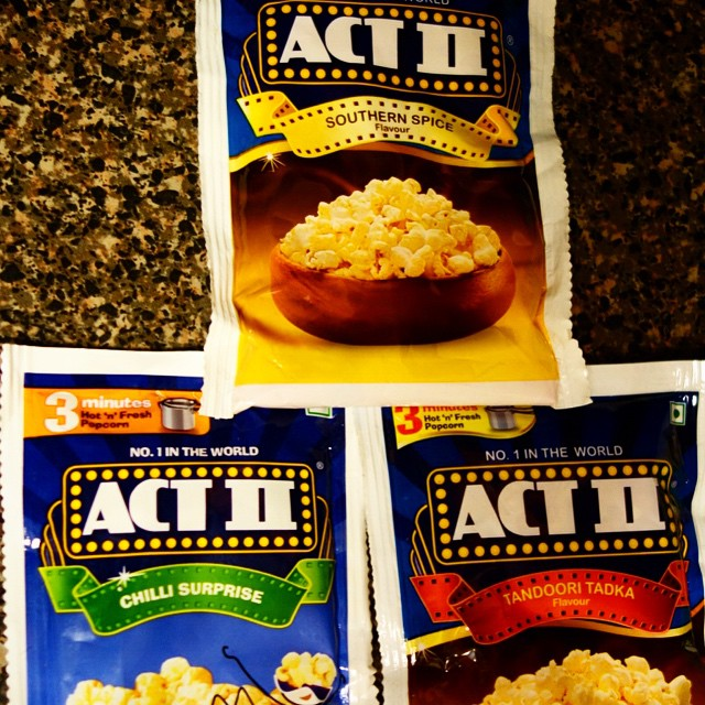 If anyone can please get me more of these, or tell me where I can get them, other than India, please do!!! I've had the southern spice one so far and immediately regretted not getting a million more of these.  Act 2 spicy popcorn is so freaking good. I can't even find these online ANYWHERE :(