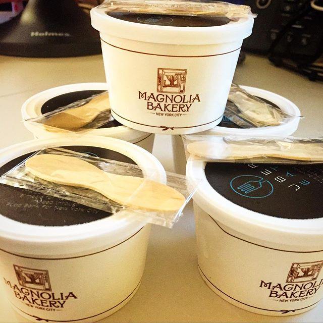 Magnolia Bakery – NYC - Banana Pudding - Uber Eats - Food Bank Fridays for $1