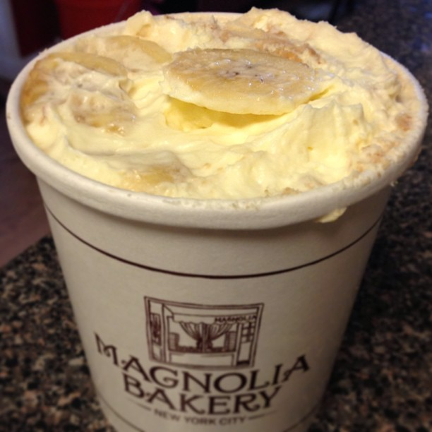 Magnolia Bakery – NYC - Banana Pudding