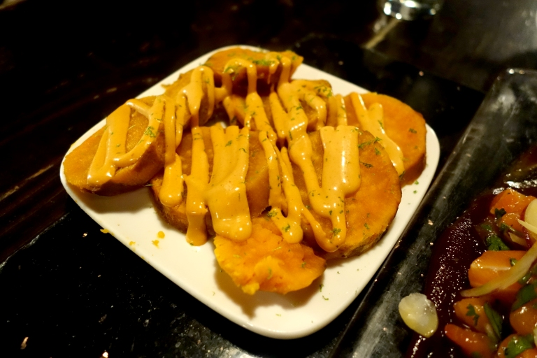 Desnuda NYC – Sweet potato with Panca aioli – the flavor was good, but this was my least favorite dish. I would pass on ordering this.