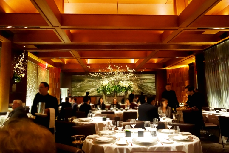 Le Bernardin – the décor