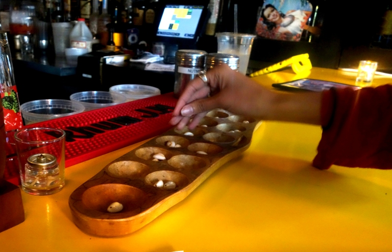 Jeepney - Mancala on the bar